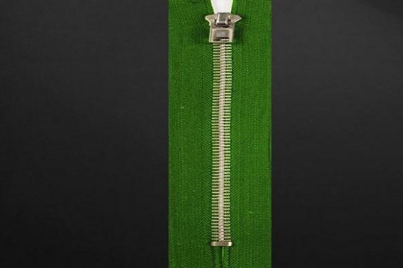Papier peint design Zip vert
