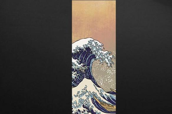 Papier peint mural La Grande Vague d'Hokusai