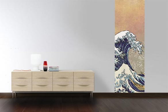 poster mural Tsunami