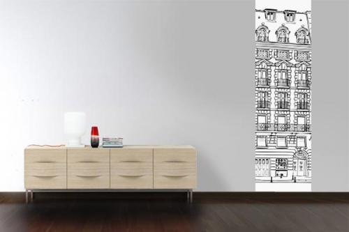 Papier peint design Haussmann