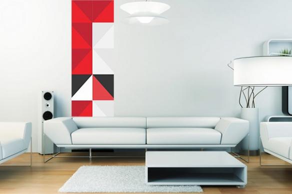 Papier peint design Astate
