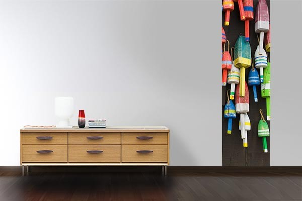 papier peint mur flotteurs izoa. Black Bedroom Furniture Sets. Home Design Ideas