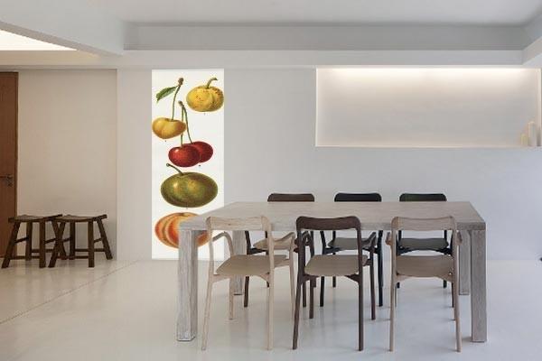 papier peint vintage fruits izoa. Black Bedroom Furniture Sets. Home Design Ideas
