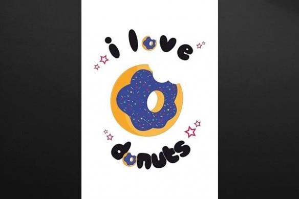 tableau original donut cuisine