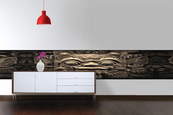 papier peint d coration bas relief izoa. Black Bedroom Furniture Sets. Home Design Ideas