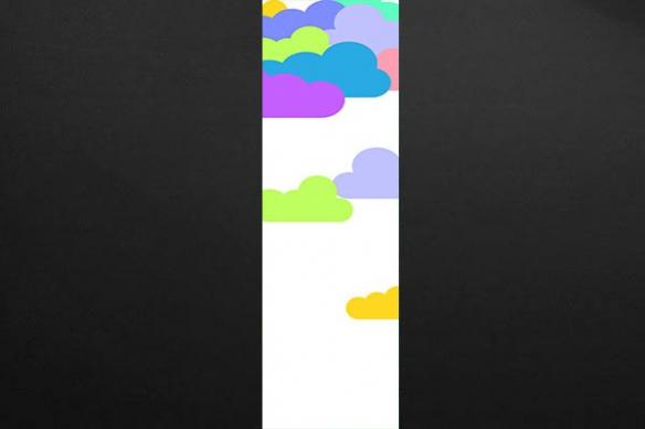 Papier Peint déco Cloudy