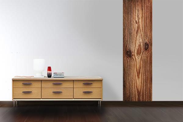 papier peint d coration murale touche du bois izoa. Black Bedroom Furniture Sets. Home Design Ideas