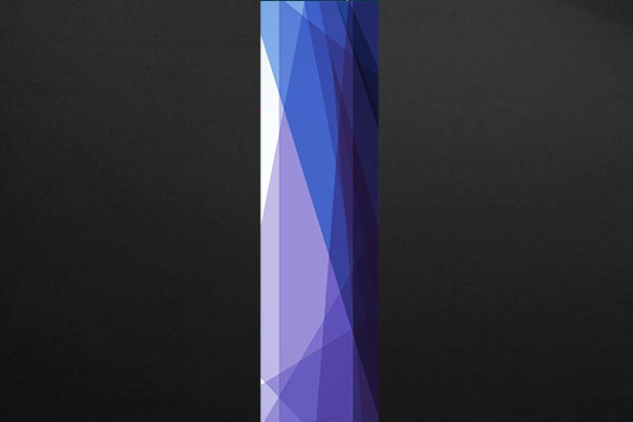poster design Zirconium violet