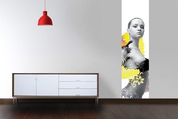 Papier peint d coration murale beauty is all izoa for Decoration murale papier