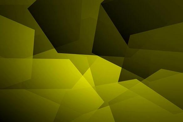 moderne deco déco abtsrait Caracao jaune
