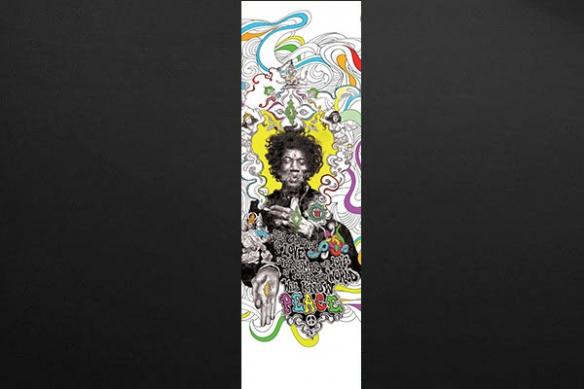 Papier peint déco design Hendrix