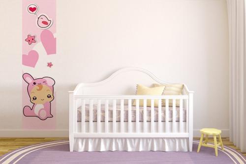 Papier peint chambre enfant Lapinou