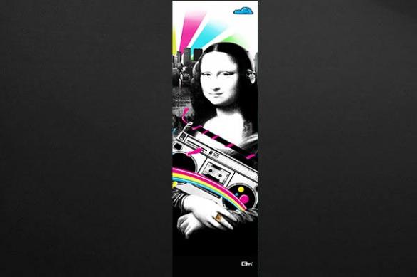 Papier peint design Mona Lisa