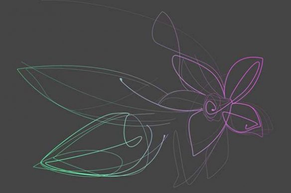 Papier Peint mural Fleur Vanille