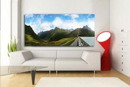 Tableau Paysage Montagnes tyrol