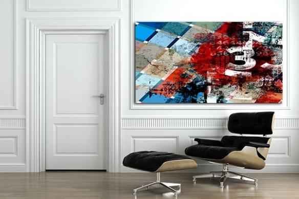 fauteuil  lounge eames Tableau design Diluvium