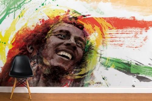 Papier peint décoration Bob Marley