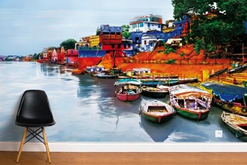 Papier peint déco Le Gange