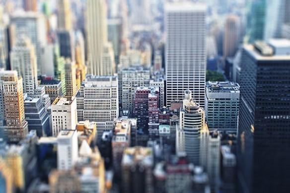 Papier Peint Photo NYC jouet