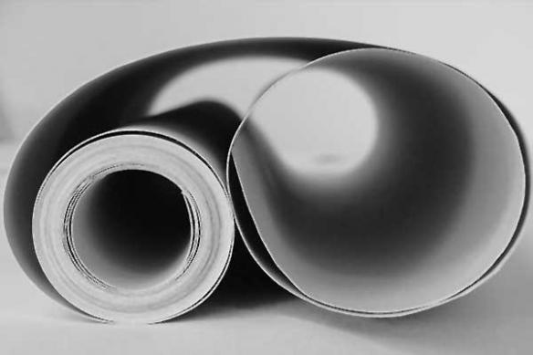 Papier peint trompe l'oeil Tube vague