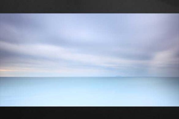 Horizon bleu mer