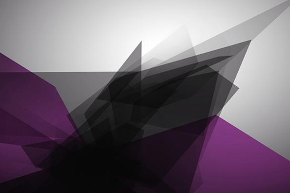 Papier peint design Tungstene violet