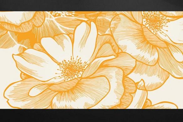 Tableau zen fleur Ysatis