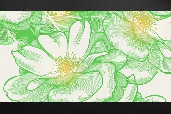 Tableau fleur  grand format Ysatis