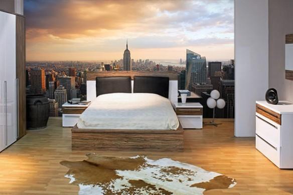 Papier peint chambre Empire State Building