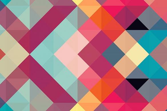 Papier peint original Symétrie