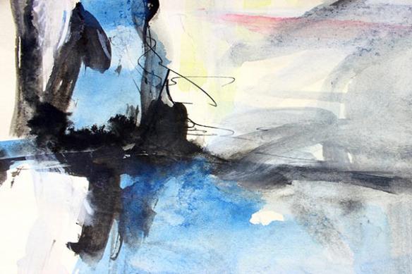 Papier peint abstrait Miyabi