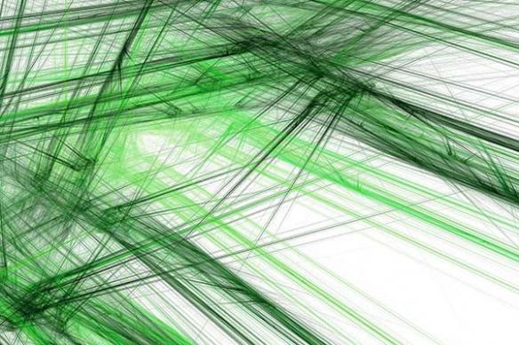 tableau contemporain  tantale vert