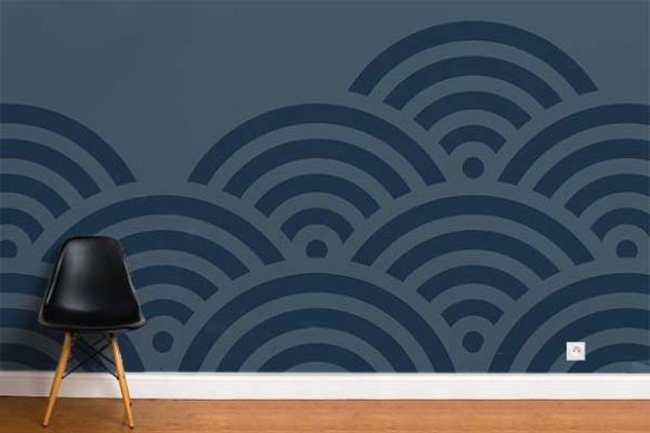 Papier peint design shakan