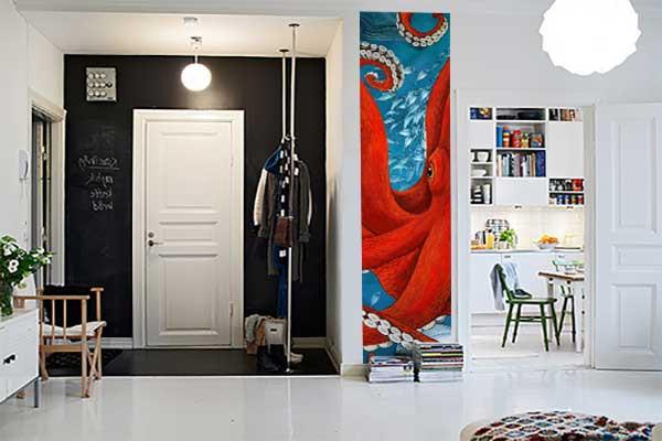 frise murale tapisserie pour chambre. Black Bedroom Furniture Sets. Home Design Ideas