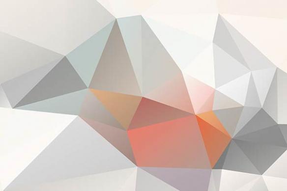 Papier peint abstrait magma