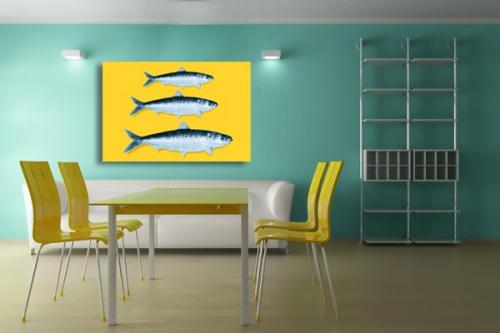 Tableau deco poisson