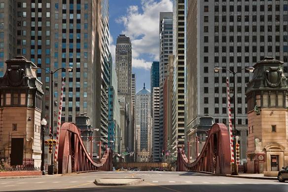 Papier peint déco Chicago