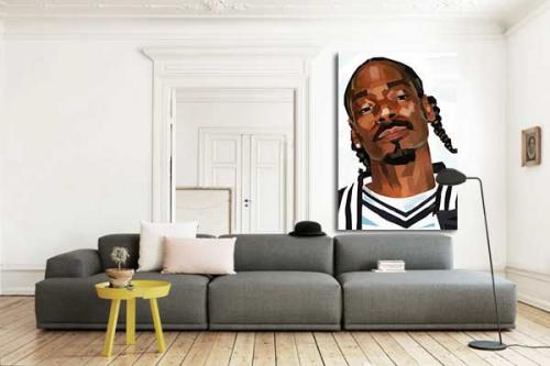 Tableau déco Snoop