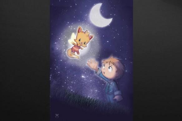 décoration murale pour chambre enfant Douce Nuit