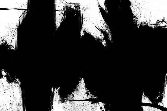 peinture abstraite Rorschach