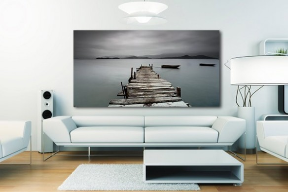 Tableau décoration Lac Halslon