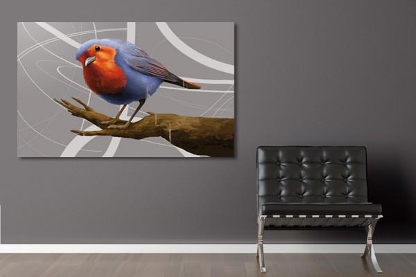 Tableau d co salomon l 39 oiseau izoa - Tableau de decoration salon ...
