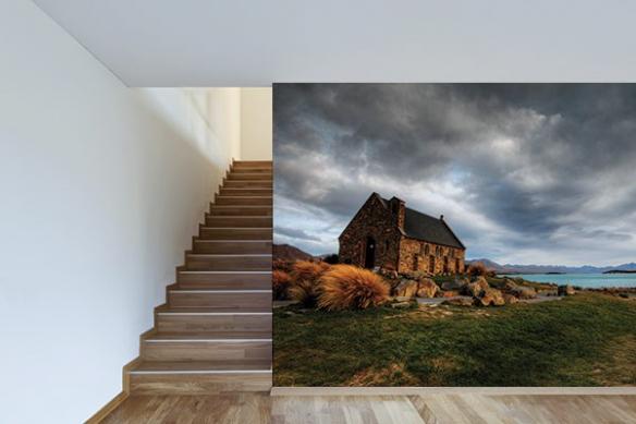 Papier peint photo Maison Abandonnée