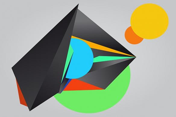 Papier peint design Ibis