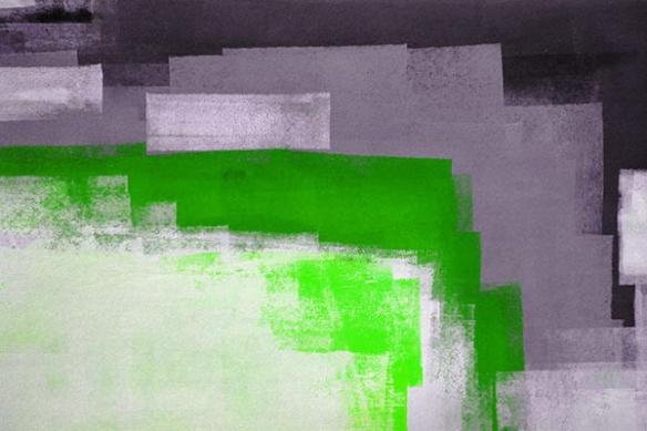 deco contemporaine peinture Nuage Dansant