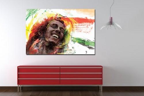 Tableau déco Bob Marley par D. Seppoloni