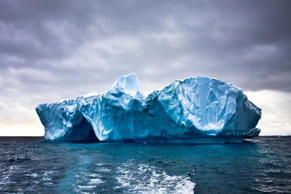Iceberg pole nord