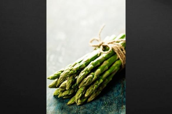 cuisine retro vintage asperges