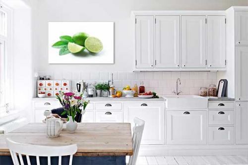 Tableau Déco Citrons verts
