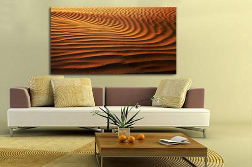 Tableau déco Desert de Karakoum